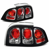 94 98 ford mustang euro altezza tail lights tail lamps. Black Bedroom Furniture Sets. Home Design Ideas