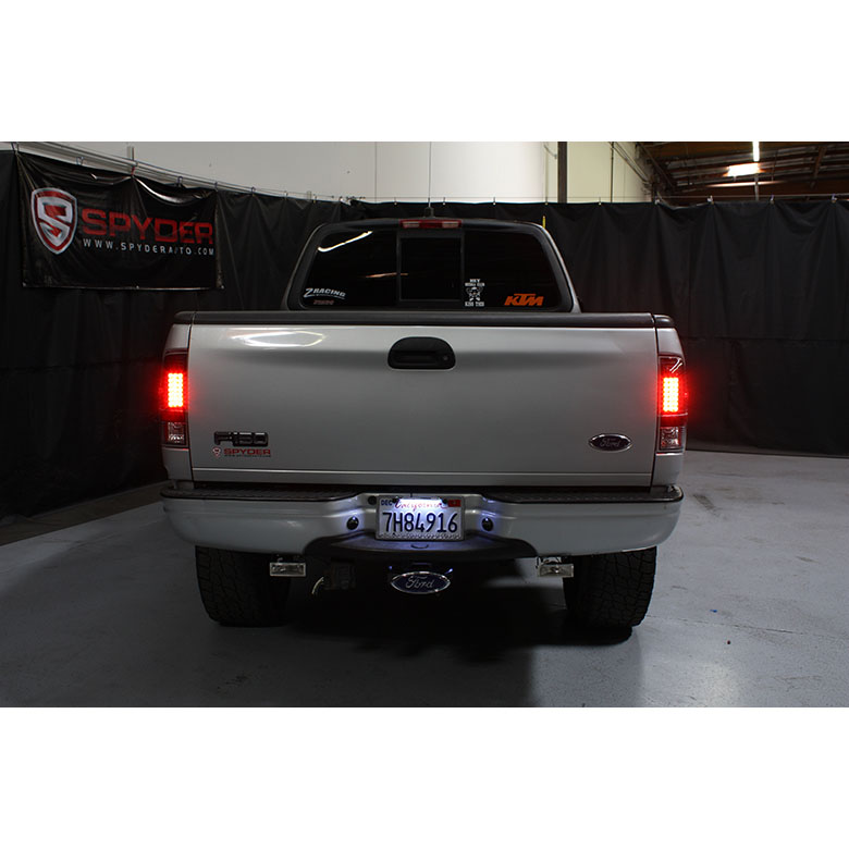 97 03 ford f150 99 07 superduty led tail lights red. Black Bedroom Furniture Sets. Home Design Ideas