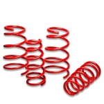 "97-03 Pontiac Grand Prix V6 1.7"" Drop Suspension Lowering Springs - Red"