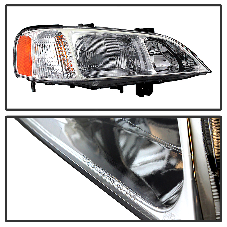 99-01 Acura TL Crystal Replacement Headlights