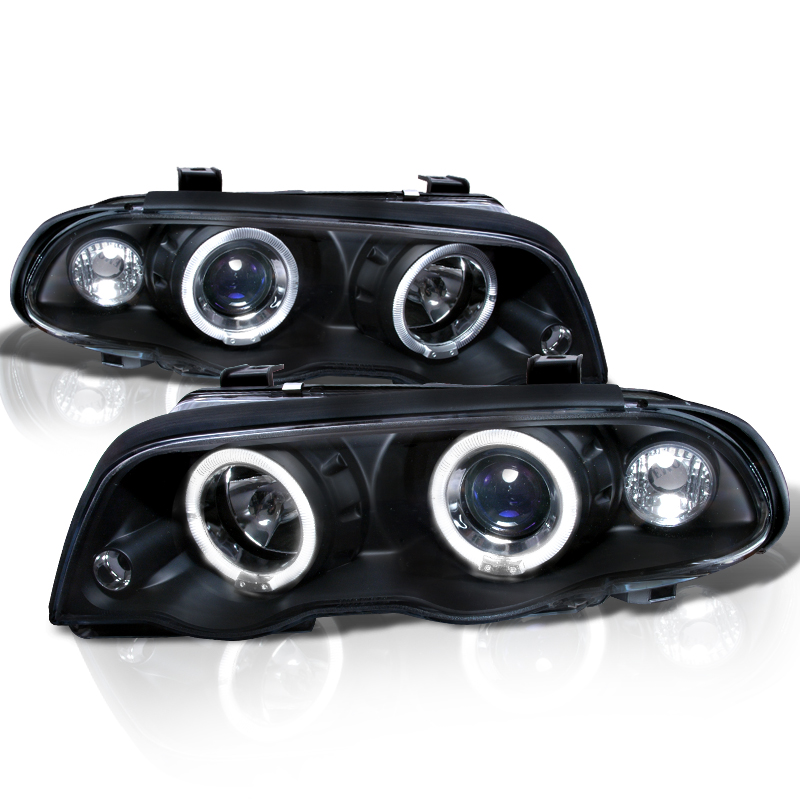 Bmw Angel Eye Halo Led Euro Projector Headlights By Html
