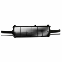 99-02 Chevy Silverado [Badgeless] Horizontal Style Front Grille Grill - Black