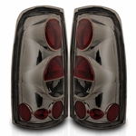 99-02 Chevy Silverado Euro Altezza Tail Lights - Smoked