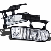 99-02 Chevy Silverado / Suburban / Tahoe OEM Crystal Replacement Fog Lights - Clear