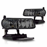 99-06 Chevy Silverado / Suburban / Tahoe / Escalade OEM Replacement Fog Lights - Smoked