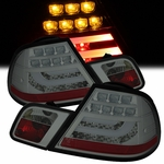 99-03 BMW E46 3-Series 2-Door Performance LED Tail Lights - Smoked