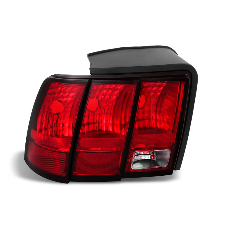 99 04 ford mustang oem style replacement tail lights. Black Bedroom Furniture Sets. Home Design Ideas