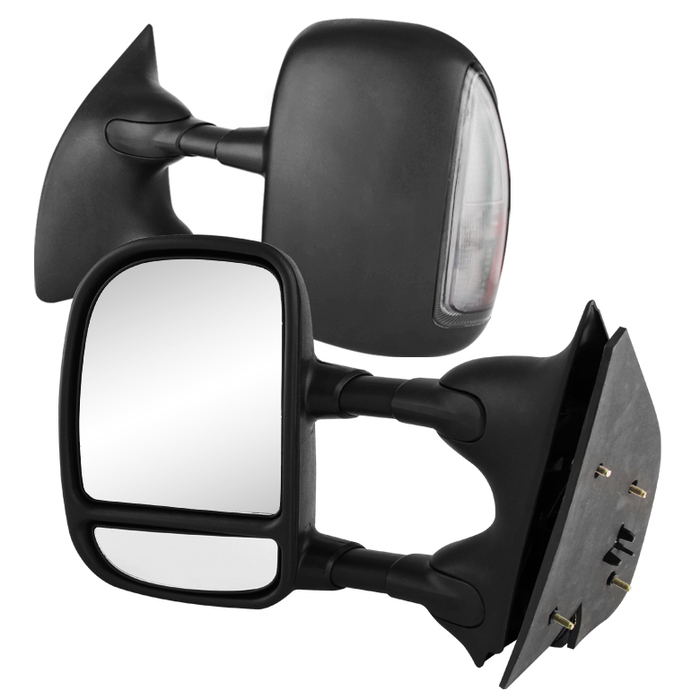 99-07 Ford F250-F550 Superduty [Manual Adjust] LED Signal Towing Side Mirror