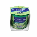 AIR FRESHENER - MY SHALDAN - 80G ROUND CAN - LIME SCENT