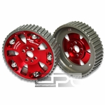 ALUMINUM BOLT-ON CAM GEARS RB20 DOHC ENGINE SWAP FITS 240SX/SKYLINE/GTR RED