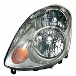 EagleEye 03-04 Infiniti G35 Replacement Headlight - Driver Left Side