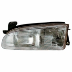 EagleEye 93-97 Geo Prizm Replacement Headlight - Driver Left Side