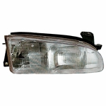 EagleEye 93-97 Geo Prizm Replacement Headlight - Right Passenger Side