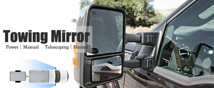 Extended Towing Mirrors