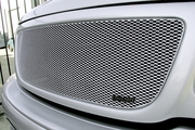 Grillcraft Mx-Series For-1302-S 99-05 Ford Lightning Grille Upper Silver
