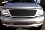 Grillcraft Mx-Series For-1304-B 99-03 Ford F150 Grille Bumper Insert Black