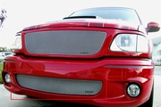 Grillcraft Mx-Series For-1305-S 99-05 Ford Lightning Grille Bumper Insert Silver