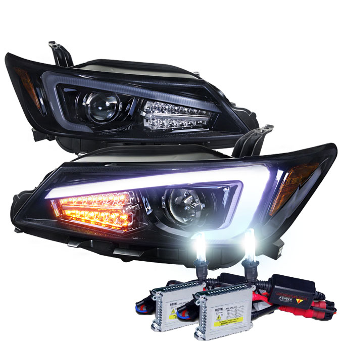 HID Xenon 2011-2013 Scion tC Optic-Style LED DRL Projector ...