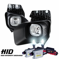HID Xenon +2011-2015 Ford F250 F350 Super Duty Clear Front Fog Lights Kit