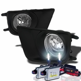 HID Xenon + 2012-2014 Toyota Tacoma Pickup OEM Style Fog Lights Kit - Clear