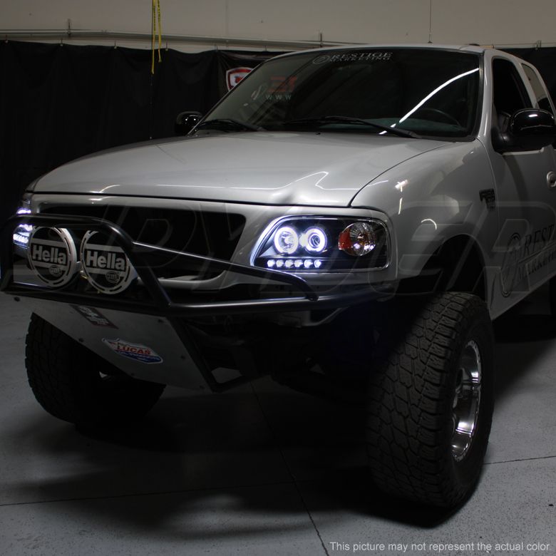 Hid Xenon 97 03 Ford F150 Expedition Halo Led