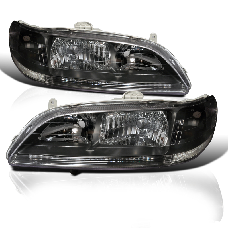 98 Honda Accord Coupe For Sale: 98-02 Honda Accord JDM Style 1-PC Crystal Headlights