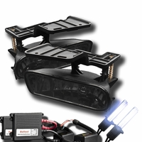 HID Xenon + 99-06 Chevy Silverado / Suburban / Tahoe / Escalade OEM Replacement Fog Lights - Smoked