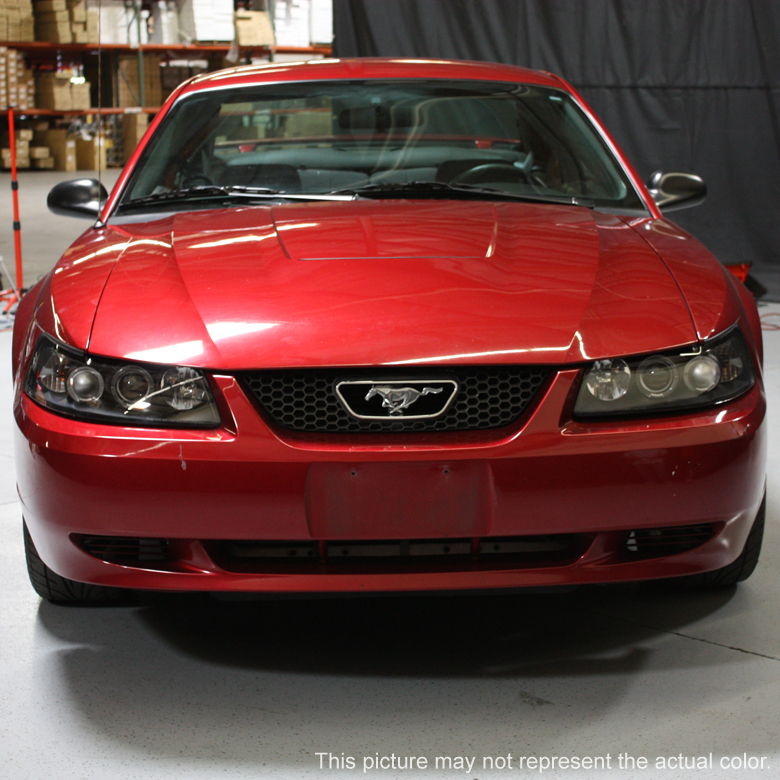 99 Ford Mustang: HID Xenon + 99-04 Ford Mustang Angel Eye Halo Projector
