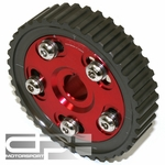 DNA Honda D-Series Sohc Engine Civic/Crx Aluminum Anodized Bolt-On Cam Gear - Red