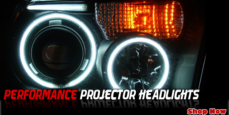 angel eye halo projector headlights