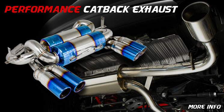 Performance Racing Catback Exhaust
