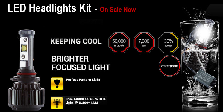 LED Conversion Headlights Kit