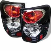 Jeep Grand Cherokee 99-04 Altezza Tail Lights - Black ALT-YD-JGC99-BK By Spyder