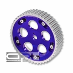 Mitsubishi Galant / Eclipse / Lancer Evo 2.0L 4G63 / G63B NA SHOC Aluminum Adjustable Cam Gear - Blue