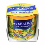 My Shaldan Japanese Car Cup-Holder Natural Air Freshener Cans (Sweet Gardena Scented)