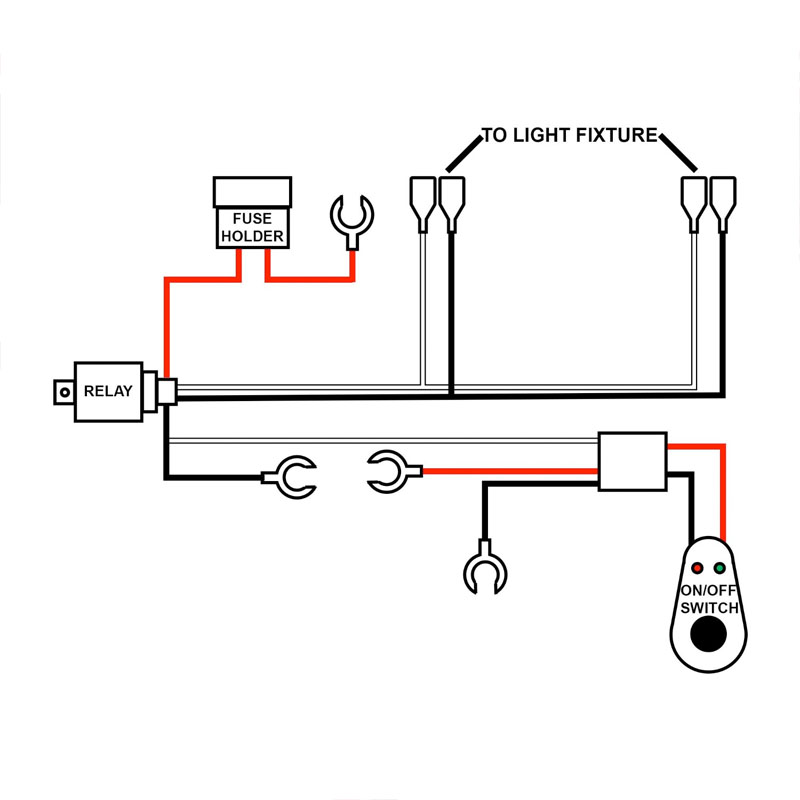 wiring harness for light bar wiring diagram and hernes led light bar wiring diagram auto schematic