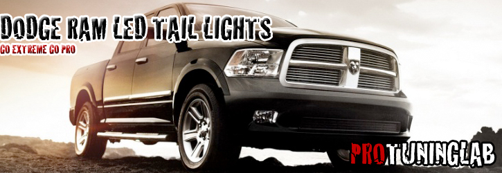 Dodge Ram Pickup Truck Euro Style Led Altezza Tail Lights