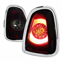 Spec-D 11-14 Mini Coooper Base / S LED Tail Lights - Red Smoked
