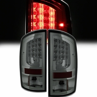 Spyder 02-06 Dodge RAM V2 LED Tail Lights - Smoked