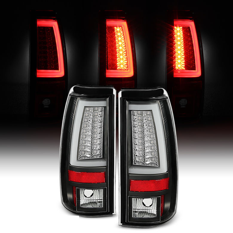 spyder 03 06 chevy silverado gmc sierra v2 led tail. Black Bedroom Furniture Sets. Home Design Ideas