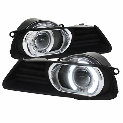 Spyder 07-09 Toyota Camry Halo Projector Fog Lights - Clear