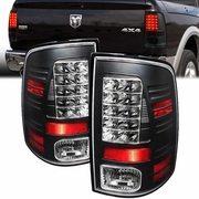 2013 2015 Dodge Ram With Factory Led Tail Lights 1500