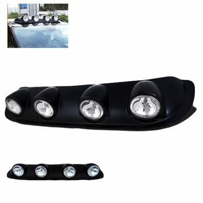 Spyder Universal Off Road Roof-Top Fog Lights Bar Kit