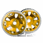 Toyota Supra / Lexus IS300 GS300 SC300 Performance Adjustable Aluminum Cam Gear - Gold
