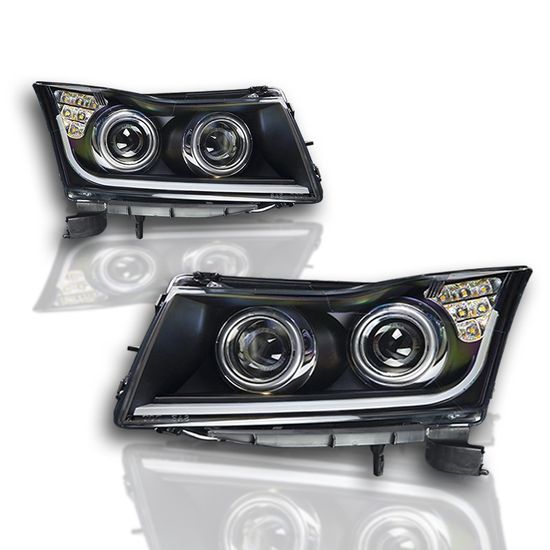 Chevy Malibu Interior Lights Wont Turn Off: Winjet 11-15 Chevy Cruze DRL Projector Headlights