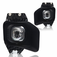 Winjet 11-15 Ford F-250 350 450 550 Fog Lights - Clear Wiring Kit Included