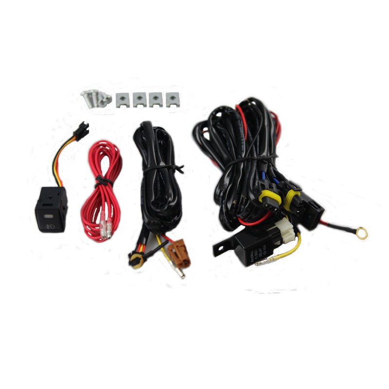 winjet 13 15 nissan pathfinder fog light clear wiring kit included