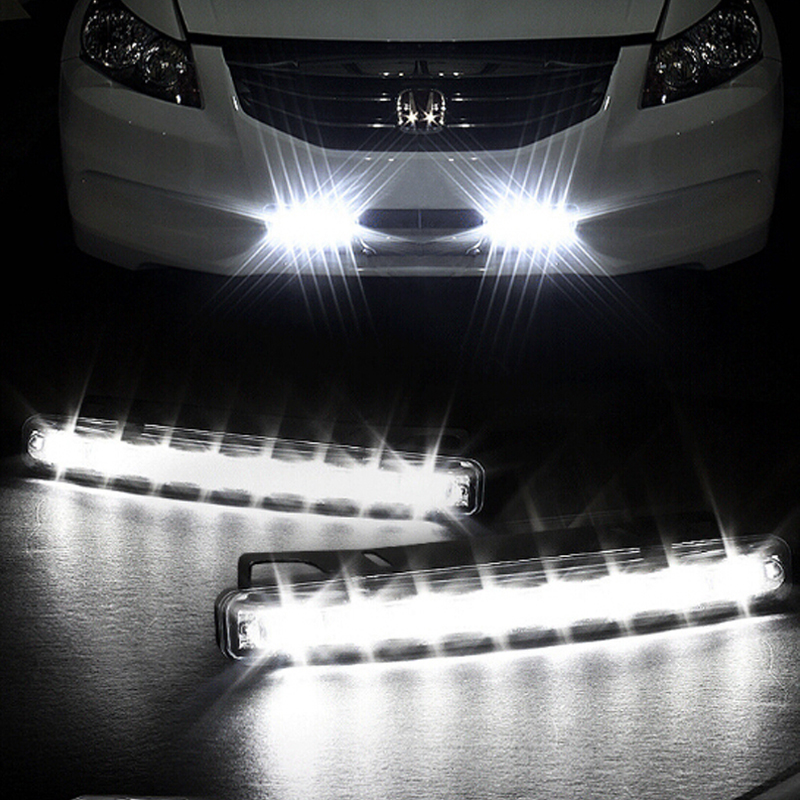 Winjet 2014 17 toyota tundra fiber optic led drl projector headlights black