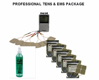 MPO Complete Professional TENS & EMS Package