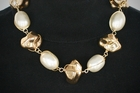 Baubles and Beads White and Gold Necklace